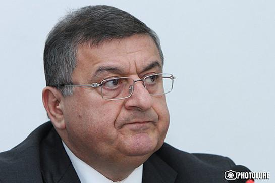 Gagik Jhangiryan refuses en route for analysis a few publications