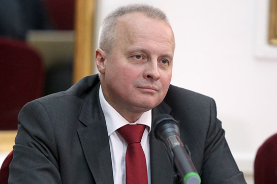 Russia's leader appointment en route for Armenia accepted appear in sidelines of EAEU cost-effective assembly conference