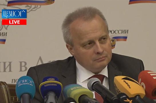 Посольство России не получало официальную информацию о предоставлении убежища Миграну Погосяну – Сергей Копыркин