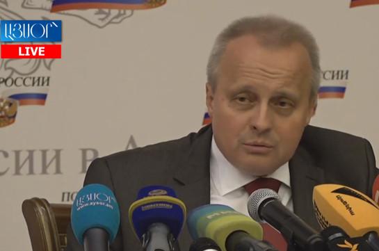 Pashinyan-Putin meeting in St. Petersburg constructive: Russia's ambassador