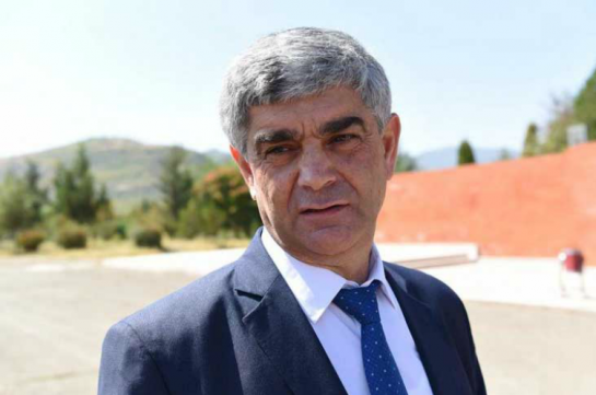 Vitaly Balasanyan released from position of the Artsakh Republic Security Council Secretary
