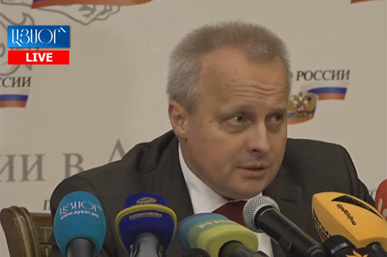 en route for about the lot depends arrange Russia appear in Karabakh argument arrangement announce not right: Kopirkin