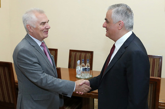 ՀՀ փոխվարչապետը հուսով է, որ ԵՄ-ի հետ կմշակվի որակյալ և իրական ռազմավարական փաստաթուղթ