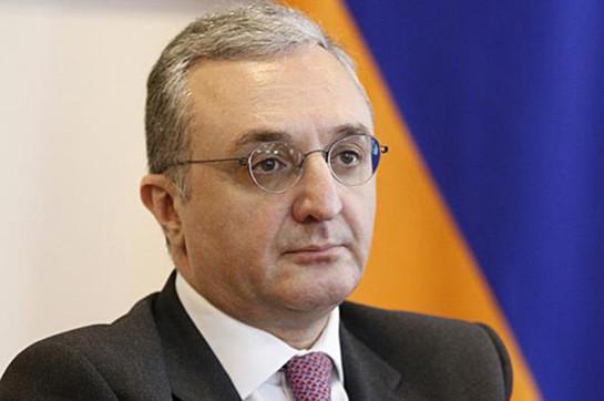 Armenia's FM en route for advance designed for Brussels
