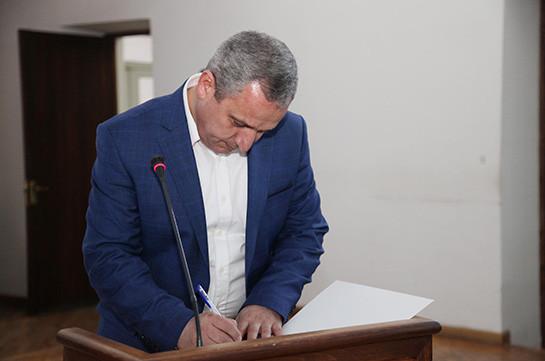 ԲԴԽ նախագահի պարտականությունները կկատարի Սերգեյ Չիչոյանը