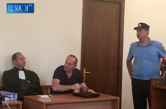 Роберт Кочарян со своим французским адвокатом присутствует на рассмотрении апелляционных жалоб