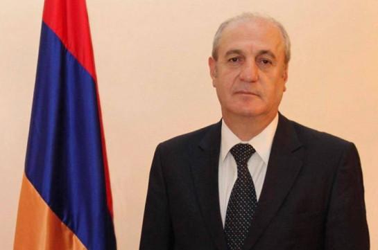 Armenia's ambassador to Turkmenistan passed away
