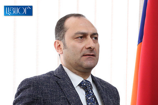 Armenia's president signs decree dismissing Zeynalyan from post of justice minister