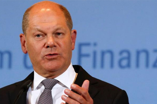 Euro zone close to agreeing on euro zone budget, financial transaction tax: Scholz
