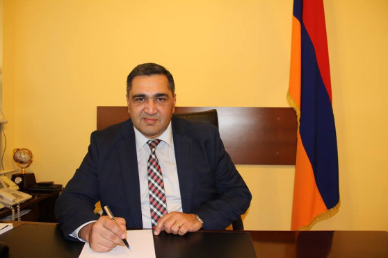 absolute court association appendage Armen Khachatryan resigns, en route for go on function at the same time as adjudicator
