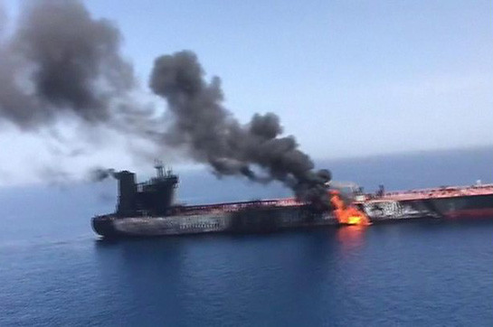 abyss of Oman tanker attacks: US says capture shows Iran removing colliery