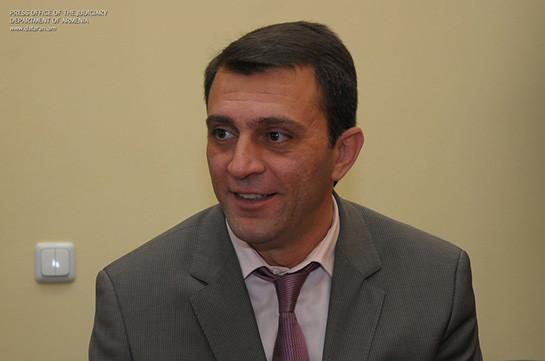 Член Высшего судебного совета Армен Бекташян подал в отставку