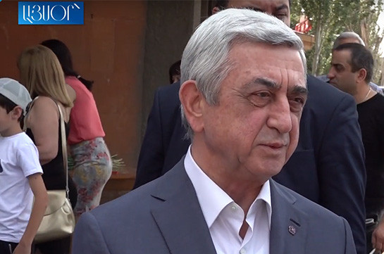 Armenia's Chess Federation works at its full: Serzh Sargsyan (video)