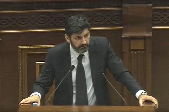 С того момента как судья принес присягу, у судьи больше нет друзей – Ваге Григорян