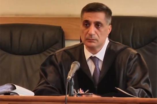 Судья по делу Кочаряна не удовлетворил ходатайство сторон процесса о самоотводе