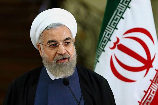 Роухани: Иран не ведет войны ни с одной нацией и будет противостоять давлению