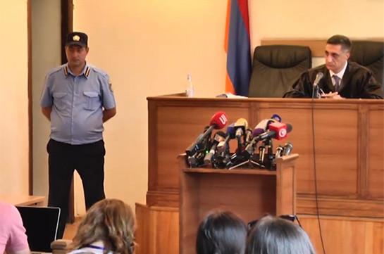 Քոչարյանի և մյուսների գործով դատական նիստը կշարունակվի վաղը