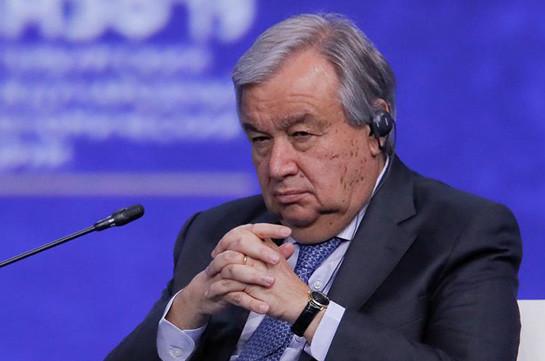 ՄԱԿ-ի գլխավոր քարտուղարը կոչ է արել ոչ մի րոպե չկորցնել կլիմայական ճգնաժամի լուծման գործում