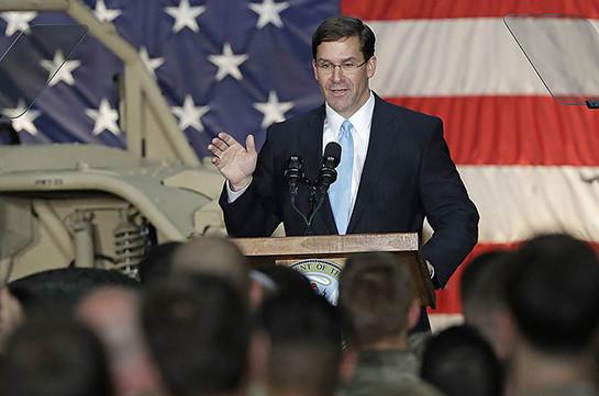 Трамп сменил исполняющего обязанности главы Пентагона