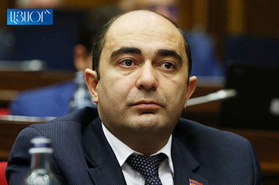 Broken promises, bad staff policy, blacks and whites division: Marukyan enumerates government's issues