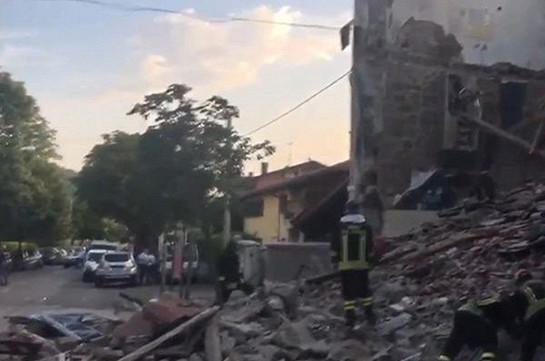 Իտալիայում կենցաղային գազի պայթյունի հետևանքով բնակելի տուն է փլուզվել