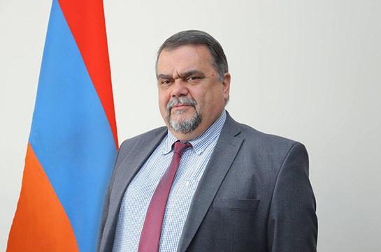 "Wikileaks'""Ambassador Boomerang"" returns to diplomatic service: Newly appointed Armenian ambassador to Uzbekistan mentioned in U.S. secret documents"