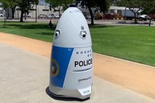 Ռոբոտ-ոստիկանը ծառայության է անցել ԱՄՆ-ում (Տեսանյութ)