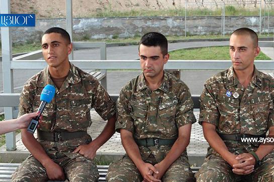 «В армии меняется мышление, идите служить в армию» - видеообращение армянских солдат (Видео)