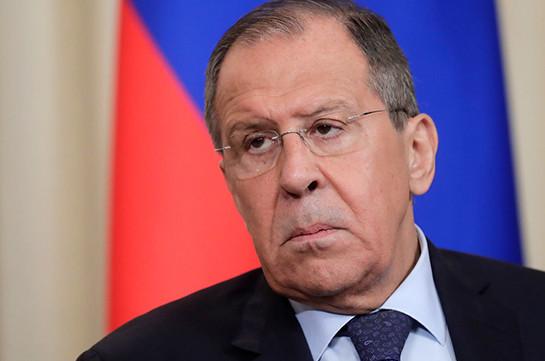 Лавров заявил, что Запад закрывает глаза на бесчинства националистов и русофобию в Грузии