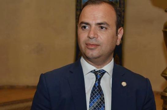 Armenia's Diaspora Commissioner meets Russia's Deputy FM