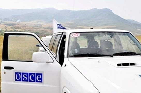 OSCE Mission conducts  planned monitoring of the ceasefire regime on the border of Artsakh and Azerbaijan