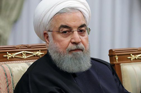 Իրանի նախագահը խստորեն քննադատել Է Սպիտակ տանը ԱՄՆ-ի պատժամիջոցներից հետո