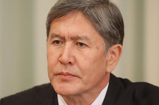Парламент Киргизии лишил неприкосновенности экс-президента Атамбаева