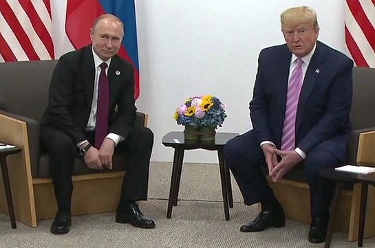 Trump to Putin: Please don't meddle in U.S. elections