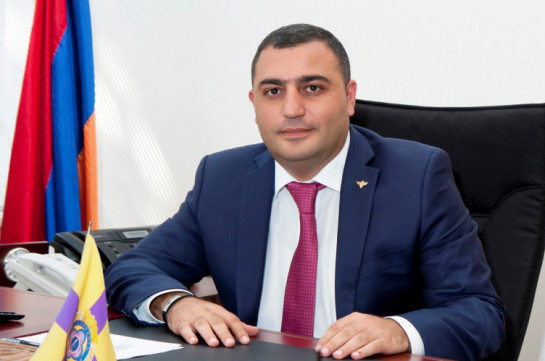 Ex-lawmaker Manvel Grigoryan's son charged