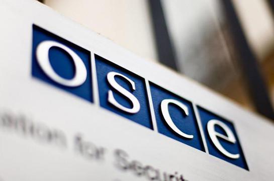 OSCE CiO expresses full support to Karabakh conflict settlement efforts: statement