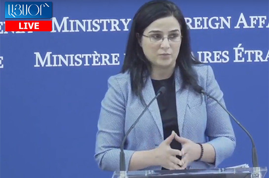 It is important for France to refrain from military-industrial cooperation with Azerbaijan: Armenia's MFA