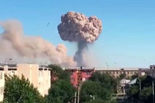В воинской части Азербайджана произошел взрыв. погибли два военнослужащих