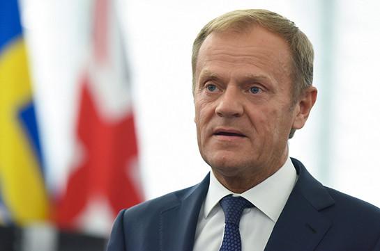 ЕС считает политическое урегулирование единственным способом решения карабахского вопроса - Туск