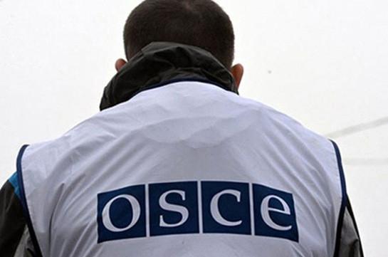 Азербайджанская сторона не вывела миссию ОБСЕ на свои передовые позиции