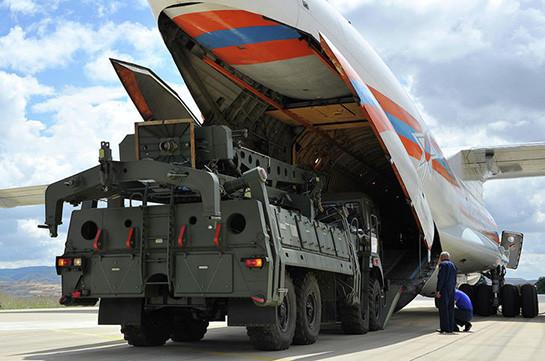 В Турцию прибыл очередной самолёт с компонентами С-400