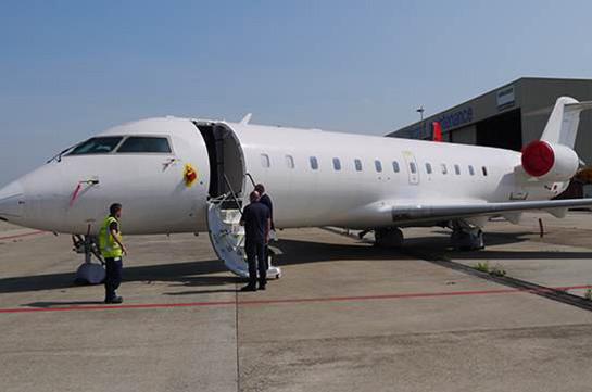 Ապակու ճաքի պատճառով ինքնաթիռը վերադարձել է Սանկտ Պետերբուրգ
