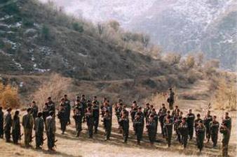 Iranian troops cross border Into Iraqi Kurdistan