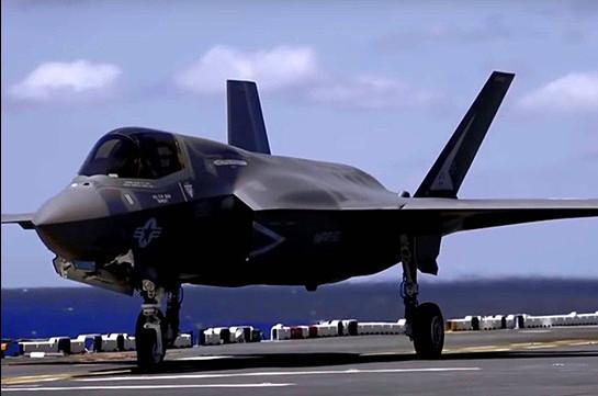 ԱՄՆ-ն Թուրքիային չի վաճառելու F-35 կործանիչներ