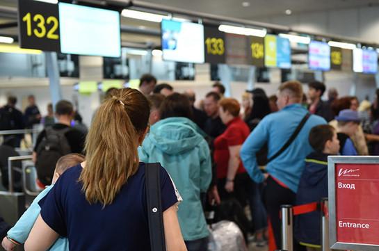 30 рейсов задержано и отменено в аэропортах Москвы