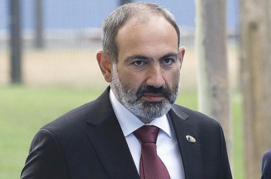 Armenia's Prime Minister Nikol Pashinyan takes vacation