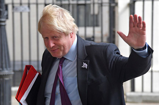 Boris Johnson wins chase en route for be Tory boss after that PM