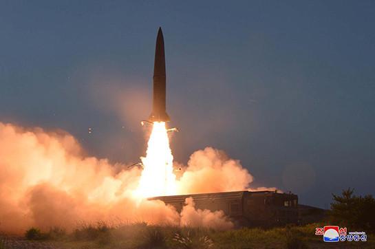 North Korea bullet begin 'a advice en route for South Korean warmongers'