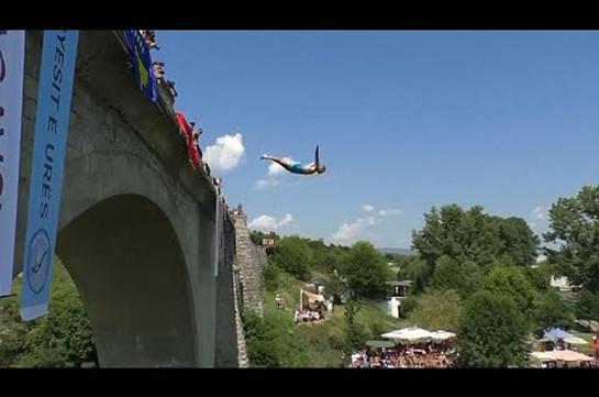 Фшайт: нырни с моста (Видео)