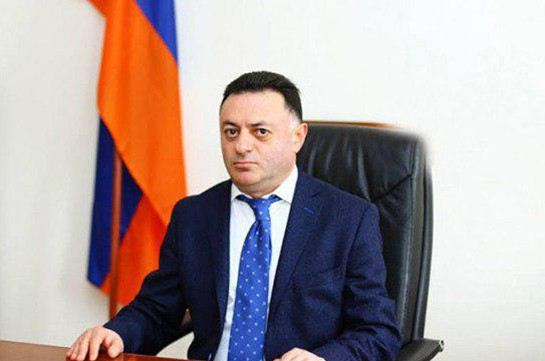 Charges brought against judge Davit Grigoryan